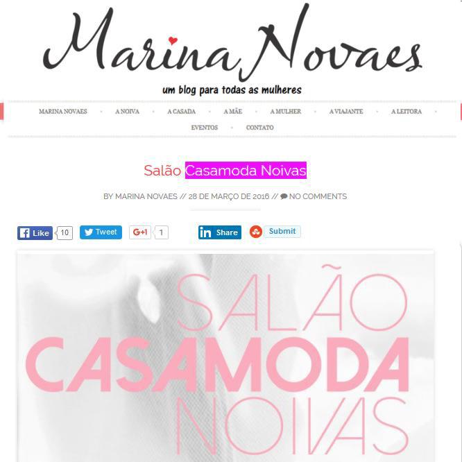Blog Maria Novaes