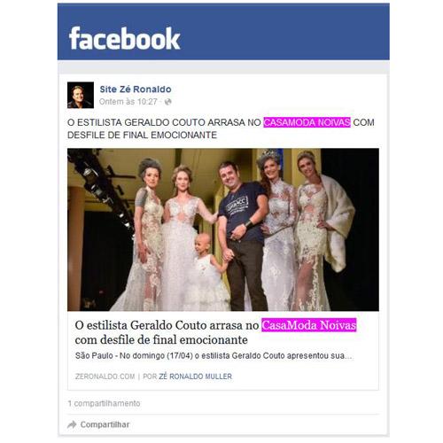 Facebook Ze Ronaldo