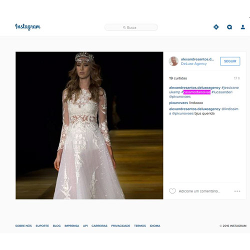 Instagram Alexandre Santos