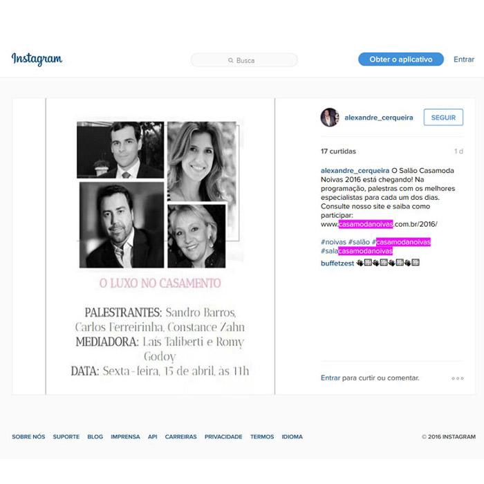 Instagram Alexandre Cerqueira