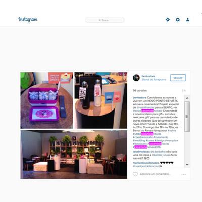 Instagram Bento Store