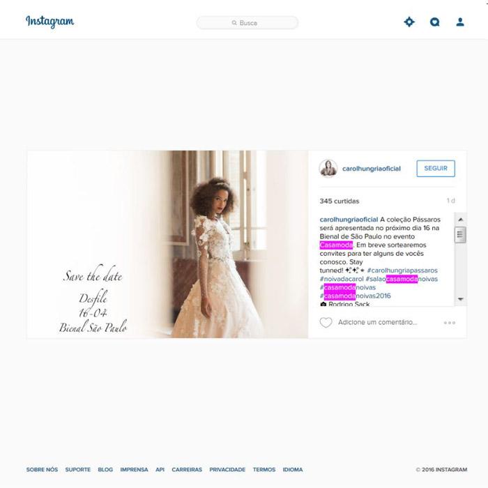 Instagram Carol Hungria