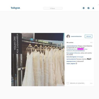 Instagram Casa Amarela Noivas