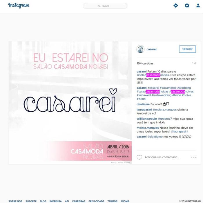 Instagram Casarei