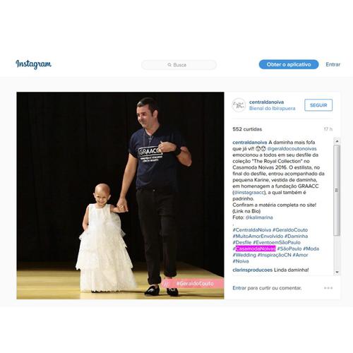 Instagram Central da Noiva