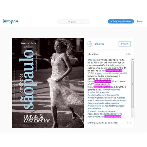 Instagram CN Noivas