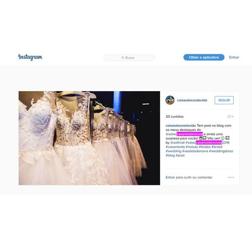 Instagram Coisas Doces da Vida