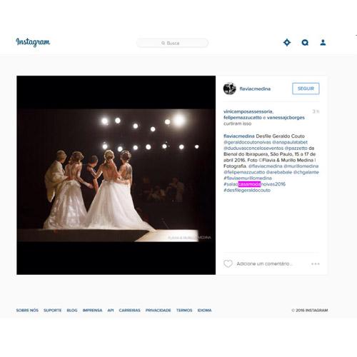 Instagram Flavia Medina