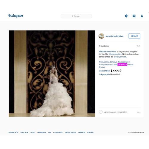 Instagram Meu diari de noiva