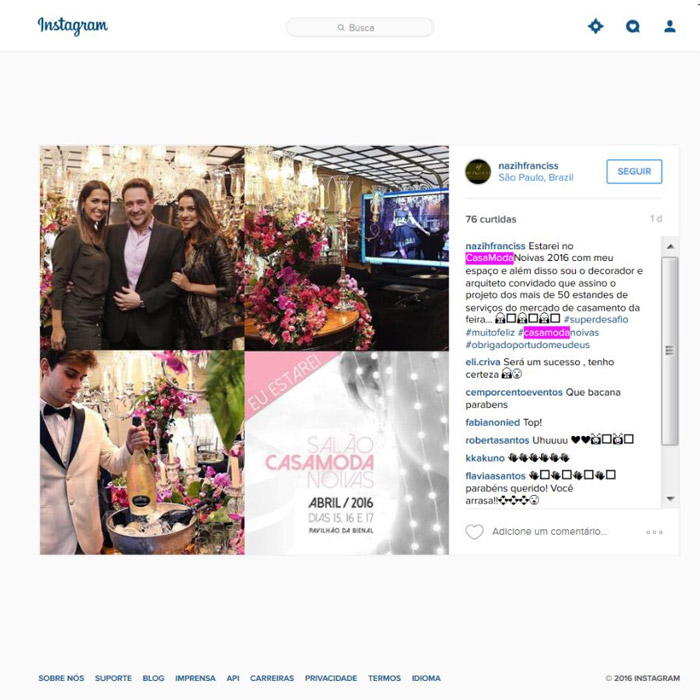 Instagram Nazih Franciss