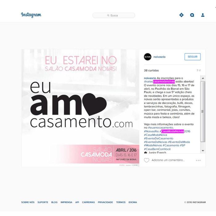 Instagram Noivas Rio