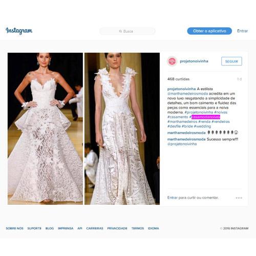 Instagram Projeto Noivinha