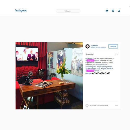 Instagram Quarto QG