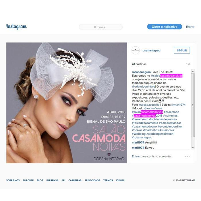 Instagram Rosa Negrão
