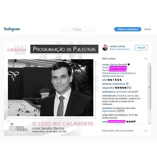 Instagram Sandro Barros
