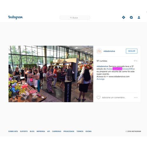 Instagram Vida de Noiva